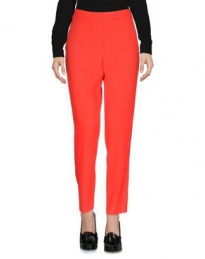 Повседневные брюки SONIA DE NISCO. Цвет: красный