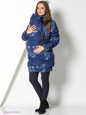 Куртка I love mum. Цвет: синий, голубой