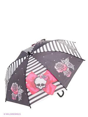 Зонт c розами Monster High Daisy Design. Цвет: черный