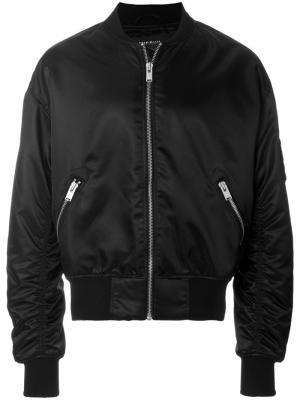 Куртка-бомбер  с принтом tribal Misbhv. Цвет: чёрный
