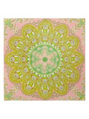 Платок Eleganzza. Цвет: зеленый, розовый, салатовый