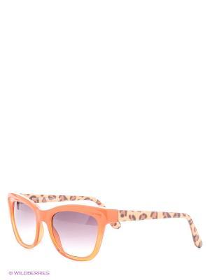 Солнцезащитные очки Franco Sordelli. Цвет: оранжевый