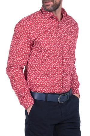Рубашка IceBoys. Цвет: красный