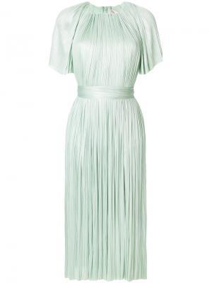 Платье Chadny Maria Lucia Hohan. Цвет: зелёный