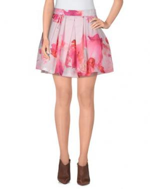 Мини-юбка TEE-TREND. Цвет: розовый