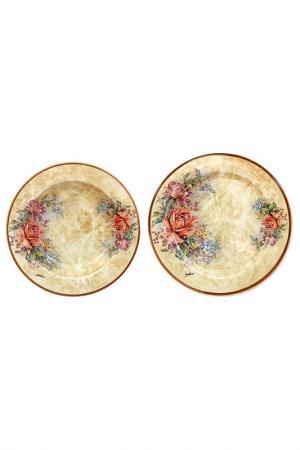 Набор тарелок LCS. Цвет: мультицвет