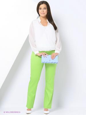 Брюки Femme. Цвет: зеленый