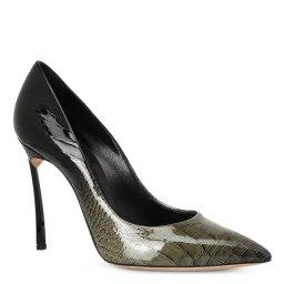 Туфли  1F161D100 темно-зеленый CASADEI