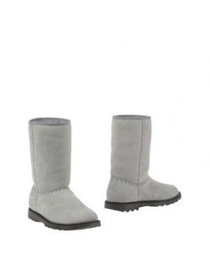 Полусапоги и высокие ботинки EQUERRY. Цвет: серый