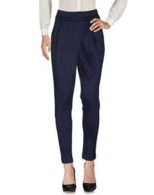 Повседневные брюки KATIA G.. Цвет: темно-синий