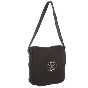 Сумка через плечо  Flap Bag Black Converse. Цвет: черный