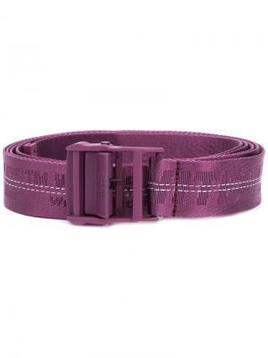 Ремень Industrial Off-White. Цвет: розовый и фиолетовый