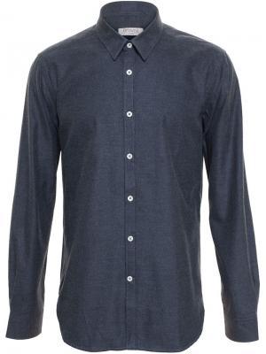 Фланелевая рубашка Browns. Цвет: серый