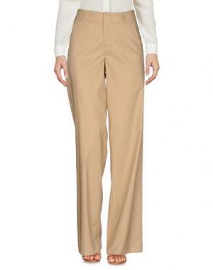 Повседневные брюки STRENESSE. Цвет: бежевый