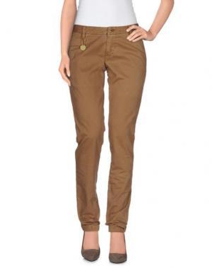 Повседневные брюки AT.P.CO. Цвет: верблюжий