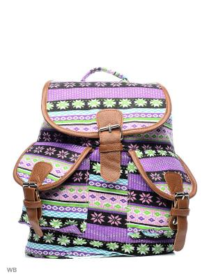 Рюкзак Punta. Цвет: зеленый, фиолетовый