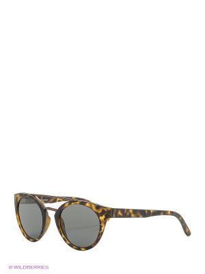 Солнцезащитные очки Franco Sordelli. Цвет: светло-коричневый