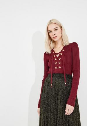 Пуловер Michael Kors. Цвет: бордовый