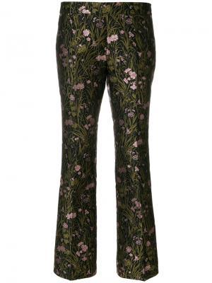 Жаккардовые брюки Giambattista Valli. Цвет: чёрный