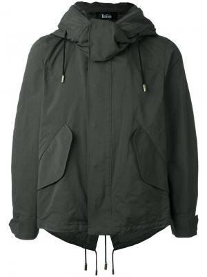 Легкая куртка The Reracs. Цвет: зелёный