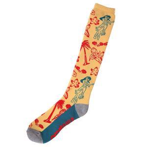 Носки высокие  Needles Sock Yellow Thirty Two. Цвет: желтый,синий,красный