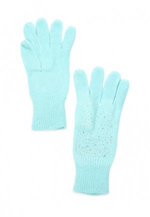 Перчатки Sela. Цвет: голубой
