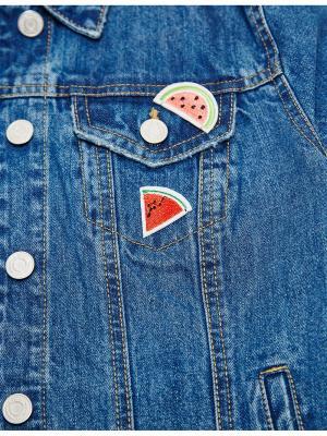 Аппликации для одежды Jennyfer. Цвет: красный