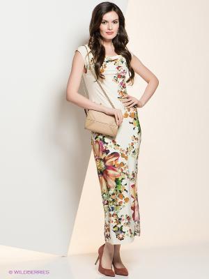 Платье La Via Estelar. Цвет: молочный, красный, зеленый