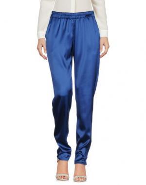 Повседневные брюки SCAGLIONE CITY. Цвет: синий