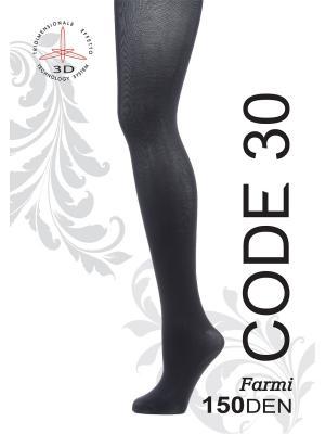 Колготки CODE-30. Цвет: черный