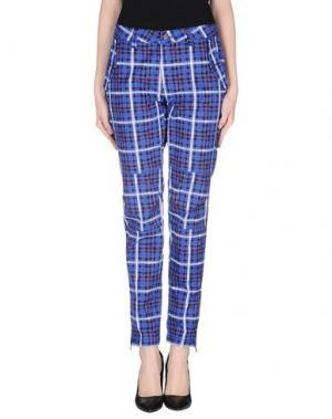 Повседневные брюки AIMO RICHLY. Цвет: ярко-синий