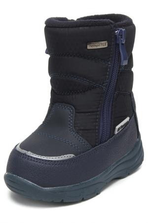 Ботиночки на молнии El Tempo. Цвет: синий