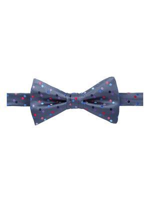 Галстук бабочка Infinity Spot Sea Duchamp. Цвет: черный, голубой, красный, лазурный, светло-голубой, светло-коралловый, серо-голубой