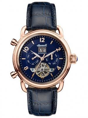 Часы I00902 Ingersoll. Цвет: темно-синий, золотистый, синий
