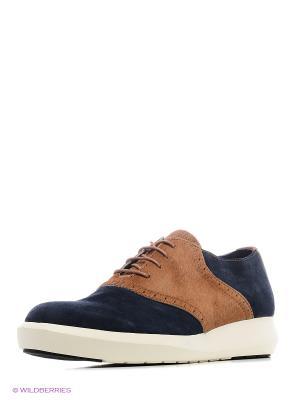 Ботинки UNITED NUDE. Цвет: коричневый, синий