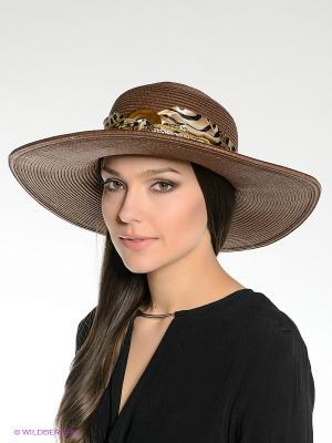 Шляпа Canoe. Цвет: темно-коричневый