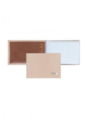 Футляр для кредитных карт Tirelli. Цвет: кремовый