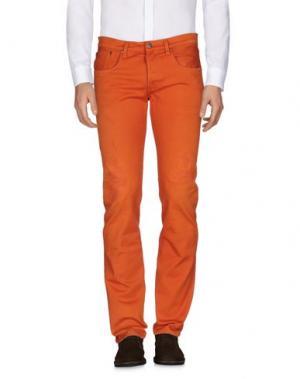 Повседневные брюки (+) PEOPLE. Цвет: оранжевый