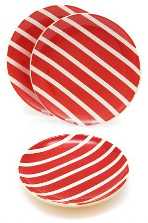 Набор: 3 тарелки обеденные Waechtersbacher. Цвет: мультицвет