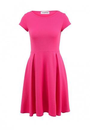 Платье Amplebox. Цвет: фуксия