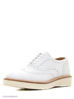Туфли NAPAPIJRI. Цвет: белый