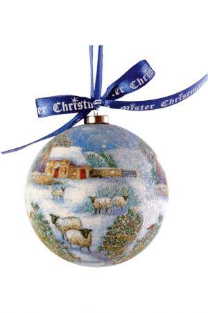 Набор шаров Mister Christmas. Цвет: синий