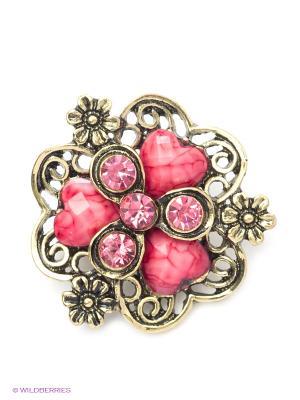 Брошь Vittorio Richi. Цвет: бледно-розовый, бежевый, лиловый