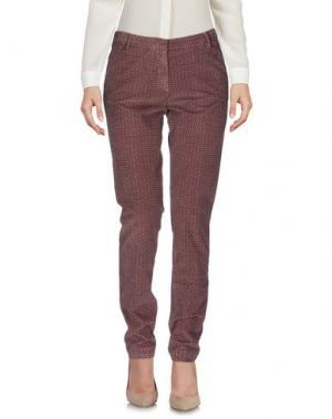 Повседневные брюки HEAVY PROJECT. Цвет: пастельно-розовый
