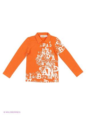 Джемпер Kidly. Цвет: белый, оранжевый