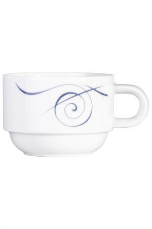 Чашка кофейная, набор 6 шт KAHLA. Цвет: белый