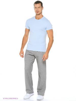 Спортивные брюки ТВОЕ. Цвет: темно-серый