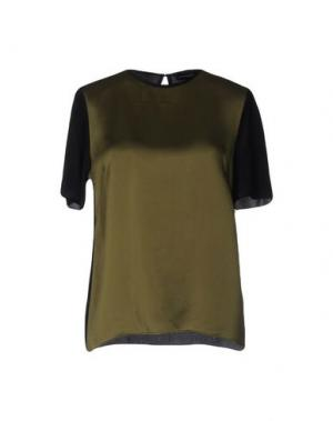 Блузка JONATHAN SAUNDERS. Цвет: зеленый-милитари