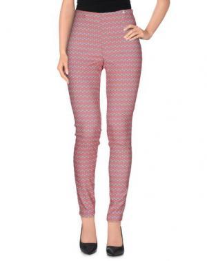 Повседневные брюки OTTOD'AME. Цвет: красный