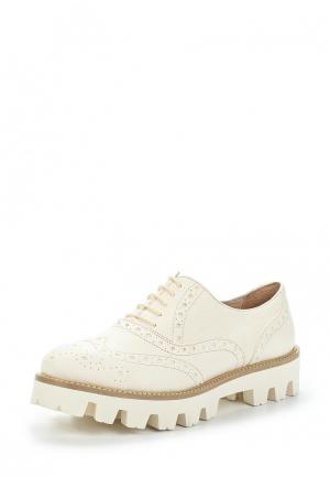 Ботинки Lamania. Цвет: белый